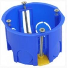 Коробка Uplast коробка уст. 68х45мм СУ для полых стен с пласас.лапк. для соед. в ряд (код 403011) 020-011 ТМ 402788