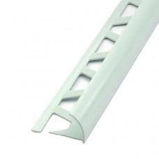 Раскладка наружная под плитку 8мм 2,5м Идеал Белая / 001 IDEAL Нп8 001/БЕЛ