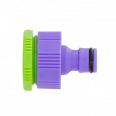 Адаптер пластмассовый, 3/4-1, внутренняя резьба// Palisad 65740