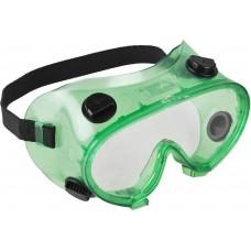 Очки  МАСТЕР защитные закрытого типа, с непрямой вентиляцией, линза поликарбонатная Зубр 11026