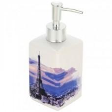 Дозатор для жидкого мыла Париж, керамика, DIS-P, 2908 Рыжий Кот  607229