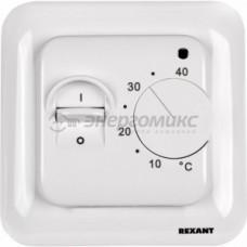 Терморегулятор Rexant  мех. (+5+35гр.C) 16А, 220В, бел 51-0531 REXANT 607096