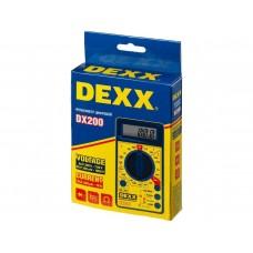 Мультиметр DEXX DX200 цифровой 45300