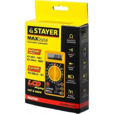 Мультиметр STAYER MASTER MAXDigital цифровой 45306
