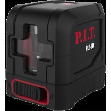Уровень лазерный (раб.диап.30м, работа 6ч, бат в компл,зел.лазер,сумка,магн.крепл) P.I.T. PIT PLE-2B