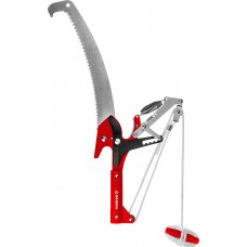Сучкорез HX-350 штанговый сучкорез с храповым механизмом и пилой с режущим крюком, Grinda 8-424431_z02
