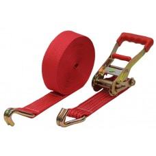 Механизм для ремней крепления груза 230мм на 5,0-10,0 тонн (ширина ленты - 55 мм) в комплекте с 2 крюками М5000