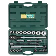 Набор  TRUCK 20 набор торцовых головок для крупногабаритной техники 20 предм. Kraftool 27895-H20_z01