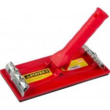Терка  для шлифования с держателем под телескопическую ручку, 210x105мм Stayer 3570-10
