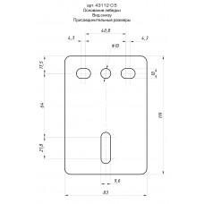 Лебедка ручная барабанная  MASTER, тяговая, тросовая, 0,45т, 8м Stayer 43112-0.5