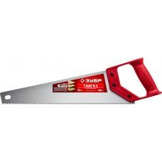 Ножовка 400мм для быстрого реза ТАЙГА-5 5 TPI, быстрый рез поперек волокон, для крупных и средних заготовок, Зубр 15083-40