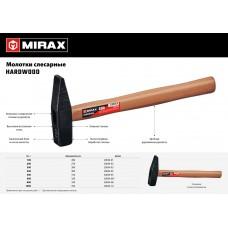 Молоток  600 молоток слесарный с деревянной рукояткой MIRAX 20034-06