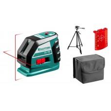 Нивелир  CL-70 #3 нивелир лазерный, 20м/70м, IP54, точн. +/-0,2 мм/м, штатив, питание 4хАА, в коробке Kraftool 34660-3