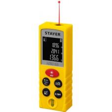 Дальномер лазерный, LDM-40, дальность 40 м, 5 функций,  Professional Stayer 34956