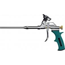 Пистолет  PROKraft   проф. для монтажной пены с тефлоновым покрытием держателя Kraftool 0685_z04