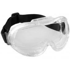 Антизапотевающие очки защитные  с непрямой вентиляцией, закрытого типа ПРОФИ 5 Зубр 110237