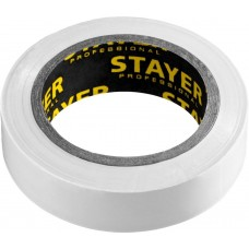 Изолента  ПВХ белая 10м (0,13*15 мм),  Protect-10 Stayer 12291-W