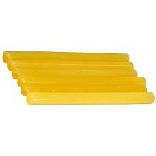 Термоклей стержень желтый 11*200мм, по бумаге и дереву, 6шт Stayer 2-06821-Y-S06 (цена за 1 шт)