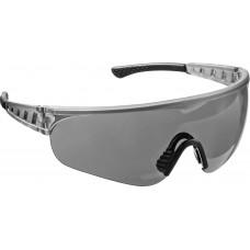 Очки серые защитные открытого типа, мягкие двухкомпонентные дужки  Stayer HERCULES 2-110432_z01