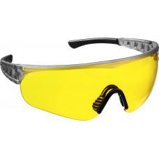 Очки защитные желтые открытого типа, мягкие двухкомпонентные дужки. Stayer HERCULES  2-110435_z01