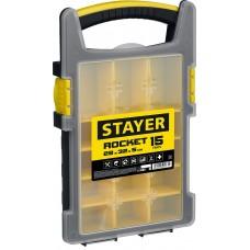 Органайзер ROCKET-15 пластиковый, Stayer 2-38031_z01