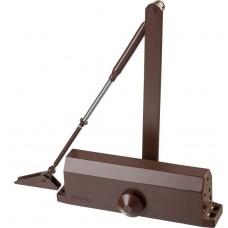 Доводчик дверной , для дверей массой до 100 кг, цвет коричневый Stayer 37917-100