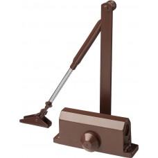 Доводчик дверной , для дверей массой до 80 кг, цвет коричневый Stayer 37917-80