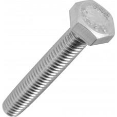 Болт М10х120 мм шестигр., цинк, кл.пр. 5.8, DIN 933 (20 кг) STARFIX SM-17573-20 (цена за 1кг)