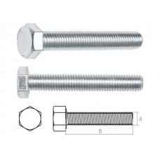 Болт М10х120 мм шестигр., цинк, кл.пр. 8.8, DIN 933 (5 кг) STARFIX SM-74687-5