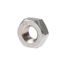 Гайка М10 шестигр., нерж.сталь (А2), DIN 934 (200 шт в карт. уп.)  0934210