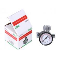 Регулятор давления  с манометром ECO AR-02-14