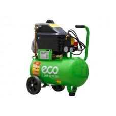 Компрессор ECO AE-251-4 (260 л/мин ,8 атм ,коаксиальный, масляный поршневой, 220 В,  24 л, 1.8 кВт  ECO AE-251-4