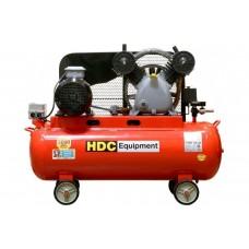 Компрессор HDC HD-A051 ( (396 л/мин, 10 атм, ременной, масляный, ресив. 100 л, 220 В, 2.20 кВт)  HDC HD-A051