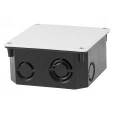 Коробка распаячная СП 110х110х50мм, крышка IP20 ЮПИТЕР JP7112-02