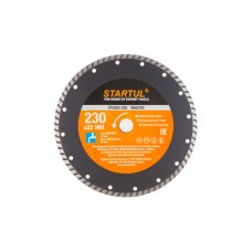 Диск алмазный 230*22,2мм универс. Turbo MASTER STARTUL ST5055-230
