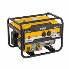 Генератор бензиновый PS 25, 2,5 кВт, 230В, 15л, ручной стартер// Denzel 946814
