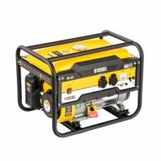 Генератор бензиновый PS 33, 3,3 кВт, 230В, 15л, ручной стартер// Denzel 946834
