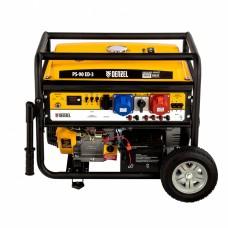 Генератор бензиновый PS 90 ED-3, 9,0кВт, переключение режима 230В/400В, 25л, электростартер// Denzel 946944