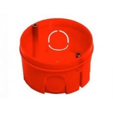 Коробка HEGEL коробка уст. внеш. 68х40мм (внутр. 64х38мм) СУ для твердых стен 5 вводов круглая КУ1106  421002