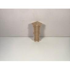 Угол для плинтуса 80мм Идеал Система Дуб северный / 213 торцевой (пара) IDEAL С80-Тп 213/ДУБ СЕВ