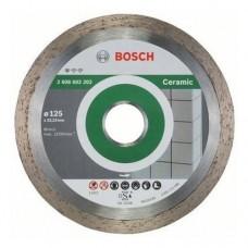 Диск алмазный 125x22,23 Stf Ceramic BOSCH 2608602202