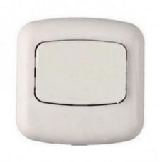 Кнопка Bylectrica кнопка звонка (выкл. для быт.звонка) ОУ 1 кл. бел. (АБС пластик) А1 1-894 Минск BYLECTRICA 13665