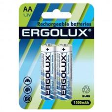 Аккумулятор Ergolux R6 1500mAh Ni-Mh BL2  641531 (цена за 1шт)