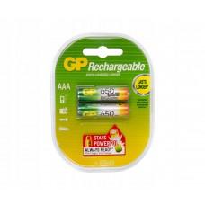 Аккумулятор GP R03 650mAh 65AAAHC/R03 Ni-MH BL2  3983 (цена за 1шт)