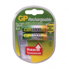 Аккумулятор GP R6 1300mAh 130AAHC/R6 Ni-MH BL2  1258 (цена за 1шт)