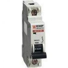 Выключатель автоматический ВА47-63, 1P 2А (В) 4,5kA EKF EKF PROxima