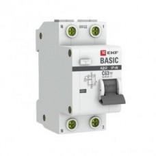 EKF Basic диф. автомат АД-12 32А/30mA хар-ка C, УЗО тип AC, электрон. 4,5кА DA12-32-30-bas
