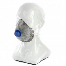 Полумаска фильтрующая формованная,модель ,с угольным слоем,с клапаном выдоха FFP1 NR// Р Исток 892467