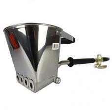 Ковш штукатурный  для стен с ручкой из нержавеющей стали Pegas 2721