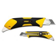 Нож двухкомпонентный корпус, трещоточный фиксатор, 18мм OLFA OL-L-5